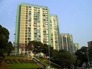 Public housing estates in Ho Man Tin - Oi Man Estate