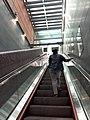 HK SYP 西營盤 Sai Ying Pun MTR Station escalators 第二街 Second Street October 2019 SS2.jpg