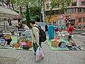 HK Shek Tong Tsui Hill Road 山道 西區墟市 Western Flea Market Apr-2013 visitors.JPG