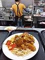 HK TKL 調景嶺 Tiu Keng Leng 明愛專上學院 CIHE Grove Cafe canteen restaurant Lunch food 咖喱雞扒 Curry Chicken Steak 碟頭飯 white plate spaghetti June 2019 SSG 02.jpg