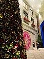 HK Wan Chai night Lee Tung Avenue Johnston Road Xmas tree Dec-2015 DSC (3).JPG