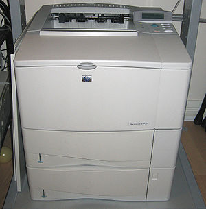 HP LaserJet 4000 series - Image: HP Laser Jet 4100tn