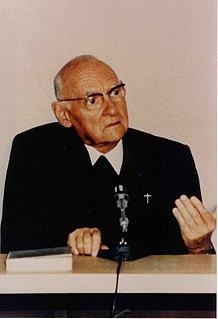 Hans Urs von Balthasar Swiss Catholic theologian