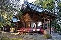 Haiden of Riden-jinja (Sakaiiyoku, Isesaki).jpg