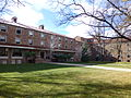 Hallett Hall, North side.JPG