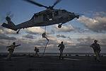 Halloween fast-roping at sea 141031-M-YH418-008.jpg