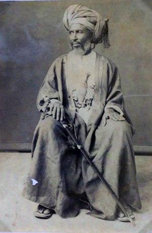 John Kirk (explorer) - Image: Hamed bin Muhammed