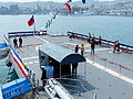 Hangar Deck of ROCN Kun Ming (PFG-1205) View from ROCN Tzu I (PFG-1107) 20140327.jpg
