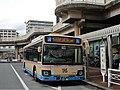 Hankyu Bus 7104 at Tsukaguchi Station.jpg