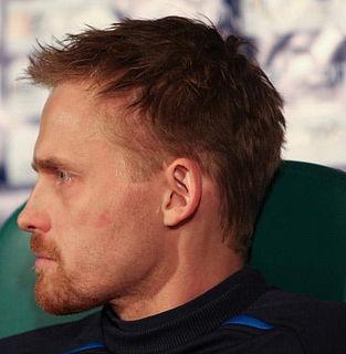 Hannu Tihinen Finnish footballer