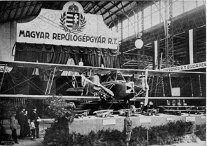 Imperial and Royal Aviation Troops - Hansa-Brandenburg G.I(U) twin engined bomber, produced by UFAG (Hungarian airplane factory), joint-stock company, in 1917. (A subsidiary of Ganz Works)