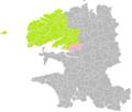 Hanvec (Finistère) dans son Arrondissement.png