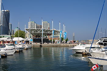 English: Harbourfront Centre in Toronto.