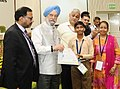 """Hardeep Singh Puri presenting the certificates to the Divyang students from special schools participated in the painting competition, at the World Habitat Day 2017 function, on the theme """"Housing Policies Affordable Homes"""" (2).jpg"""