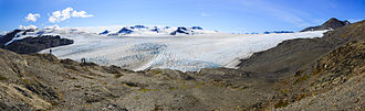 Harding Icefield - Harding Icefield panorama near Exit Glacier