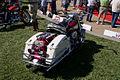 Harley Davidson FLH 1970 ElectraGlide RSideRear Lake Mirror Cassic 16Oct2010 (14876884542).jpg