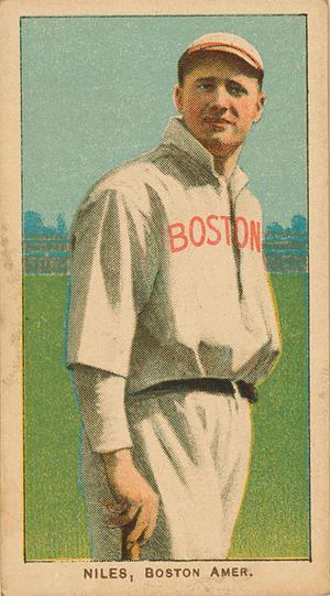 Harry Niles - Image: Harry Niles White Borders baseball card