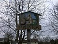 Hauxton Village Sign - detail - geograph.org.uk - 728553.jpg