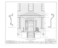 Hayes Manor, East Water Street vicinity, Edenton, Chowan County, NC HABS NC,21-EDET.V,1- (sheet 8 of 17).png