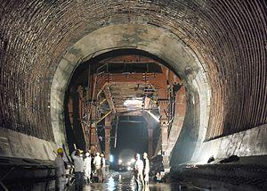 Koyna Hydroelectric Project - Head race tunnel