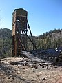 Headframe, Bonanza Mine, Looking W, Saguache Co., CO, USA - panoramio.jpg