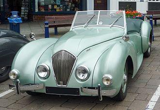 Donald Healey Motor Company - Image: Healey Westland 1949