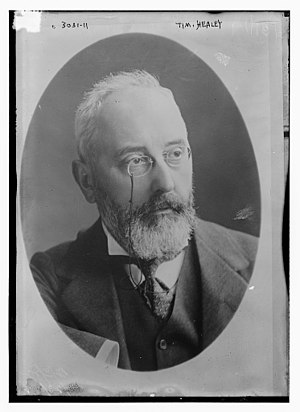 Tim Healy (politician) - Timothy Healy MP, ca 1915
