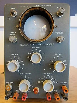 Heathkit - Heathkit Oscilloscope OL-1, 1960s