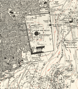 Height 743 section Jerusalem map, scale 10,000 scale, 1st edition, Survey of Palestine, Jaffa, August 1925, Ordnance Survey Offices, Southhampton, 1926.png