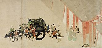 Heiji rebellion - Image: Heiji rokuhara gyoukou
