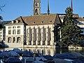 Helmhaus-Wasserkirche - Limmat - Stadhausquai 2014-05-24 19-32-58 (P7800).jpg