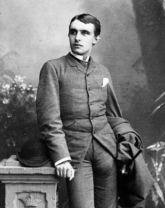 Herman Bang - Herman Bang in his younger years