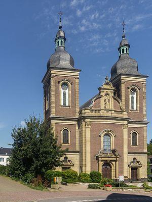 Herzogenrath - Image: Herzogenrath, Pfarrkirche Sankt Maria Himmelfahrt Dm 000097 1 foto 6 2015 08 30 12.50