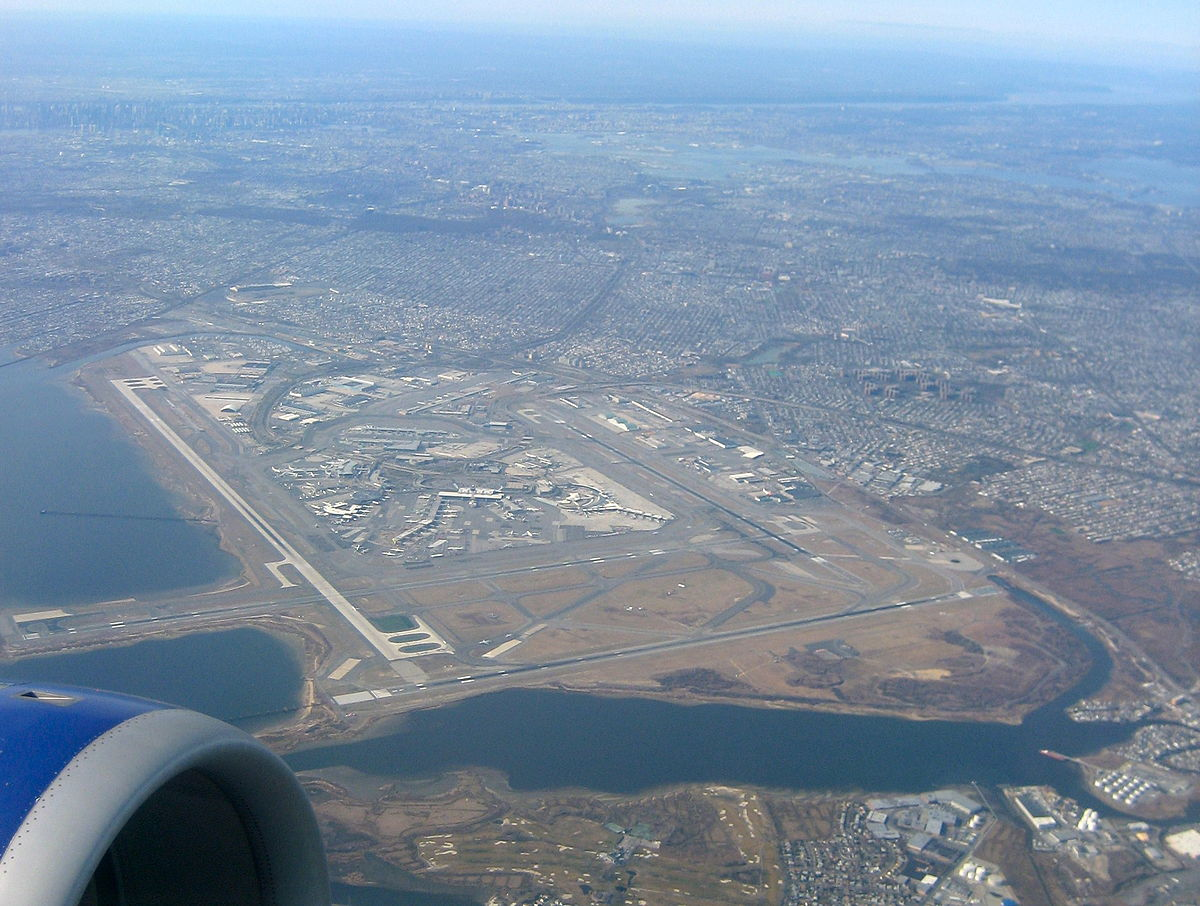 Aeroporto New York Jfk : Aeroporto internacional john f kennedy wikipédia a