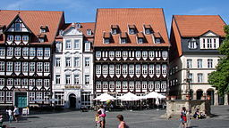 Hildesheim Marktplatz 2012 02