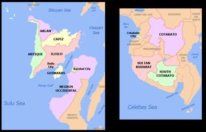 Hiligaynon people - Geographically, Hiligaynon is mostly spoken in Panay, Guimaras, Negros, and southern parts of Mindanao.