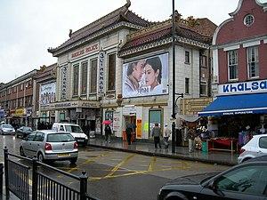 Southall - Image: Himalaya Palace Cinema, Southall geograph.org.uk 173961