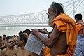 Hindu Priest - Jagannath Ghat - Kolkata 2012-10-15 0624.JPG