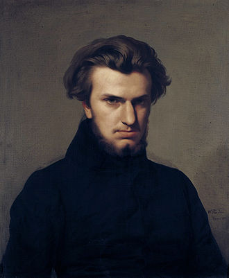 Ambroise Thomas - Portrait of Ambroise Thomas in 1834 by Jean-Hippolyte Flandrin