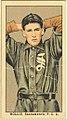 Hollis, Sacramento Team, baseball card portrait LCCN2008677323.jpg