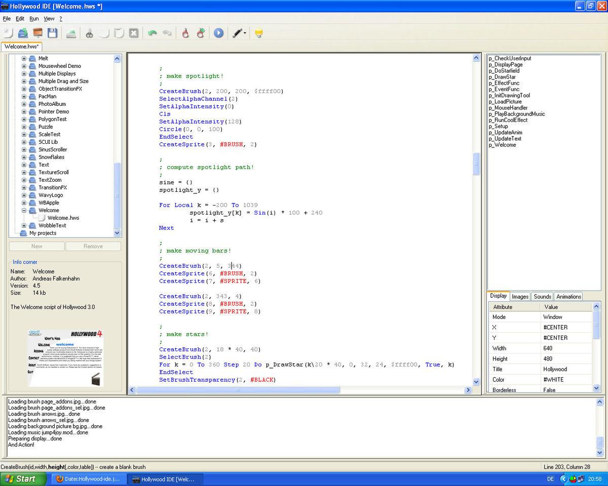 Hollywood (programming language) - Wikipedia