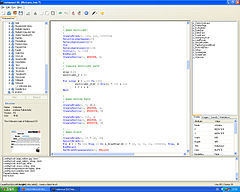 Hollywood IDE running on Windows XP