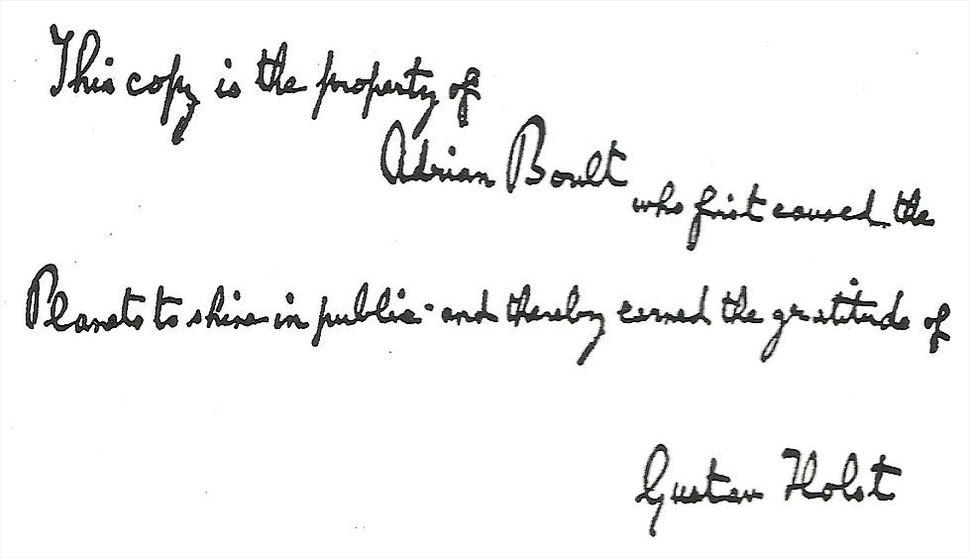 Holst-planets-inscription