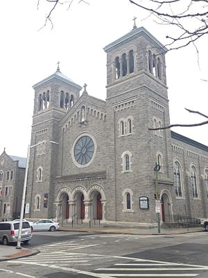 Holy Rosary Church (Baltimore, Maryland) - Image: Holy Rosary Church Baltimore
