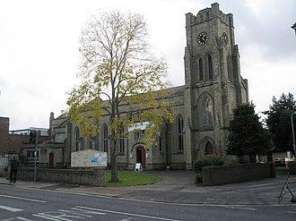 Grade II* listed buildings in Fareham (borough) - Image: Holy Trinity Church, Fareham geograph.org.uk 615954