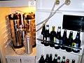 Homebrew refrigerator keg corny (3106652818).jpg