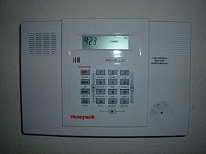 Security alarm - Wireless home alarm system control panel