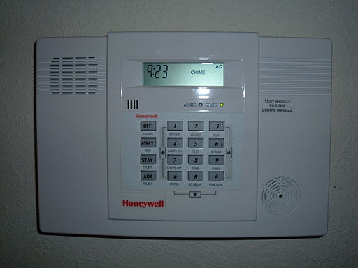 Honeywell home alarm
