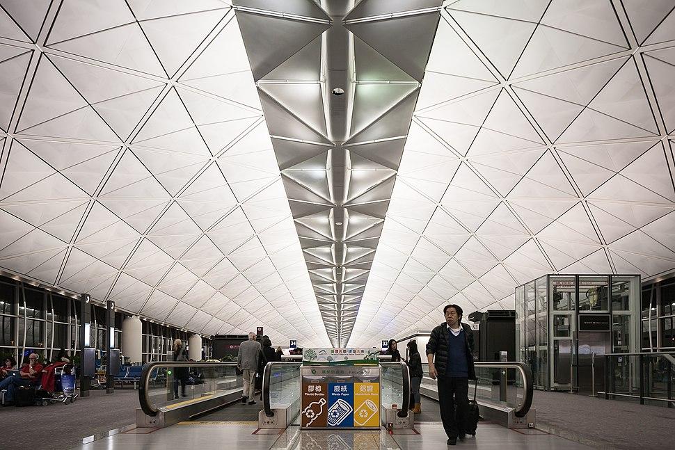 Hong Kong airport terminal 1
