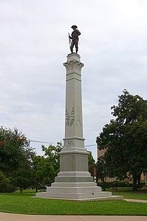 Hoods Texas Brigade Monument